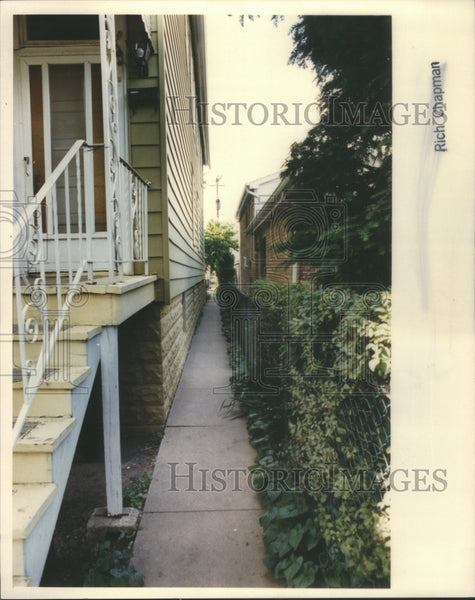 1992 Police Boy Gangway Home Place Joseph - Historic Images