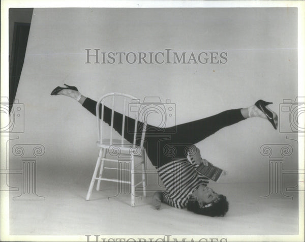 1986 Press Photo Donna Ippolito/Choreographer/Chicago/Dance - Historic Images