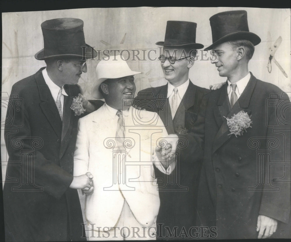 1931 Chicago Greeter Gaw Doctors harmony hokum hunter Pratt - Historic Images