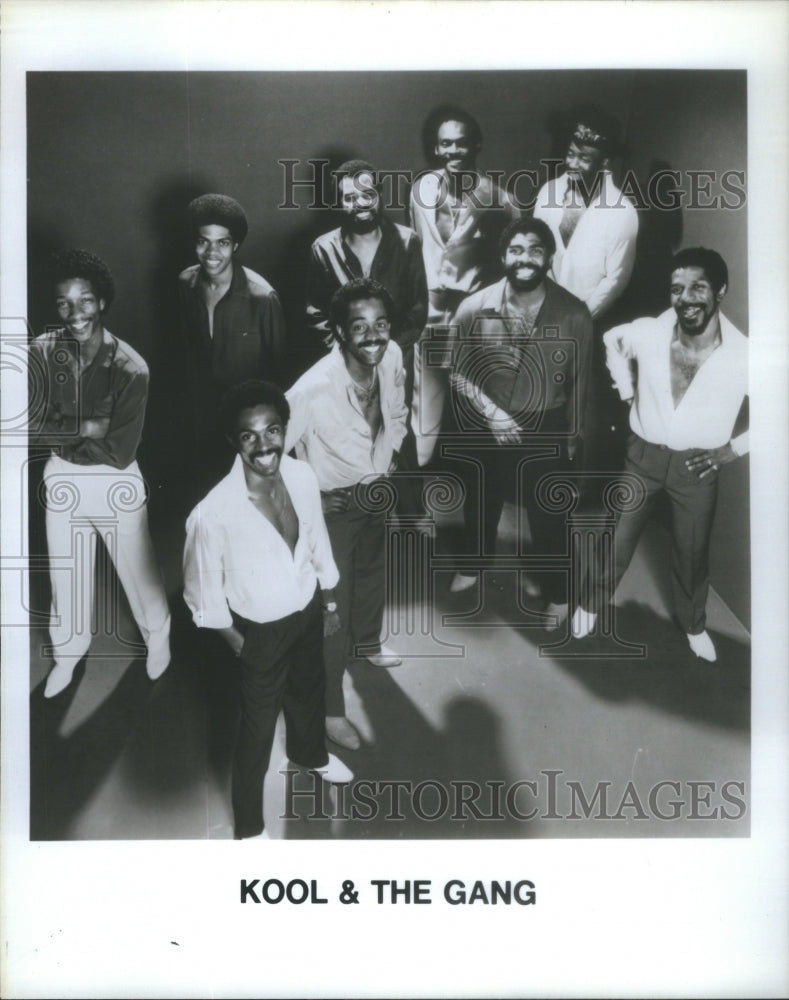 None Press Photo Kool & The Gang- RSA85027 - Historic Images