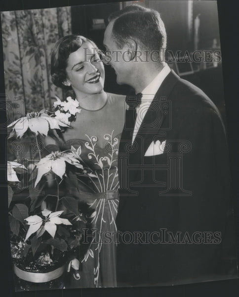 1951 Jan-Ann Turner and Martin Detmer wedding - Historic Images