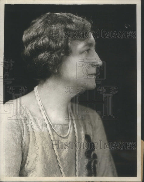 1929 Wife Of War Secretary Good Studio Portrait - Historic Images