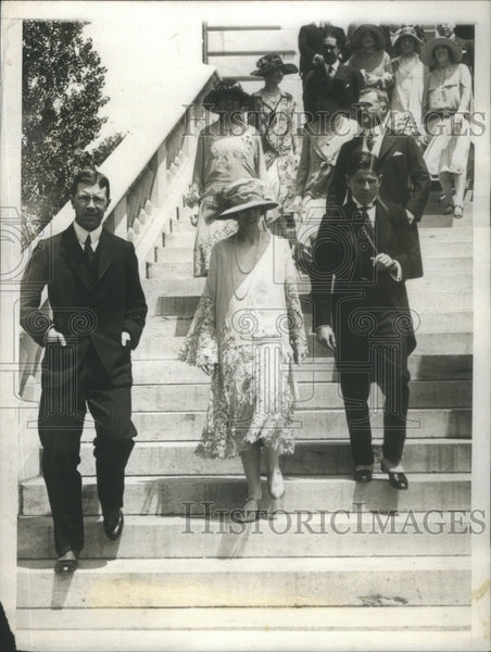 1926 Prince Gustavus Adolphus Princess Louise Alexandra Blair Photo - Historic Images