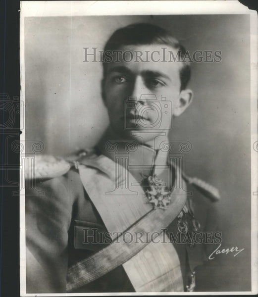 1928 Prince Gustavus Adolphus Sweden Crown Prince Wed Count - Historic Images