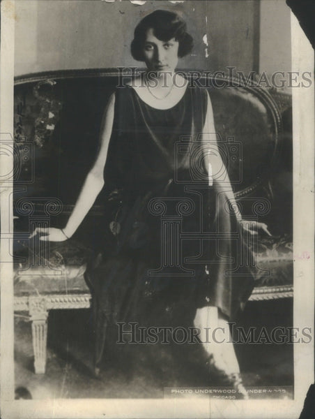 1925 Princess Märtha Sweden Sofia Lovisa Norway - Historic Images