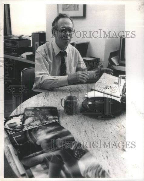 Nat Leherman president Sr. VP publishing Playboy magazine - Historic Images