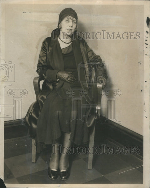 1930 Mrs. Florence Leeney/Accused Of Murder/Not Guilty Verdict - Historic Images