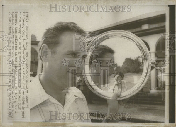 1970 Press Photo Gary Cowan Winner North South Amateur Golf Tournament - Historic Images