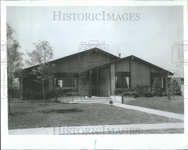 1973 Press Photo Final Phase California Style Home Larwin Group Greenbrook - Historic Images