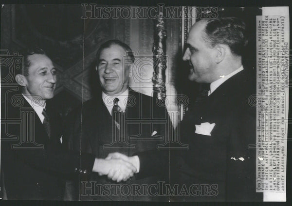1940 Press Photo Senate Oday Hatch anti politics law employees local Government - Historic Images