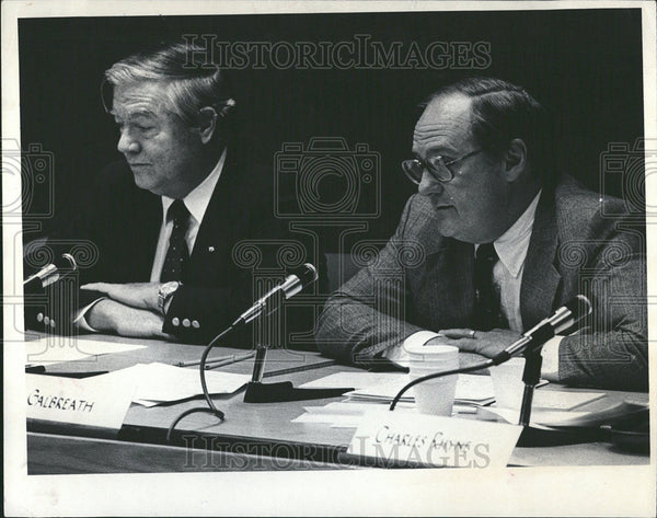 1981 Press Photo District Transportation Board Chairman Lowell Hutson - Historic Images