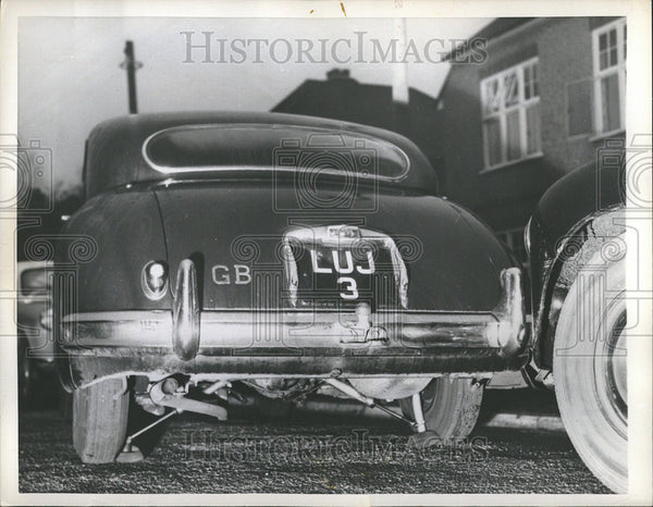 1957 Press Photo Great Britain Transportation - Historic Images