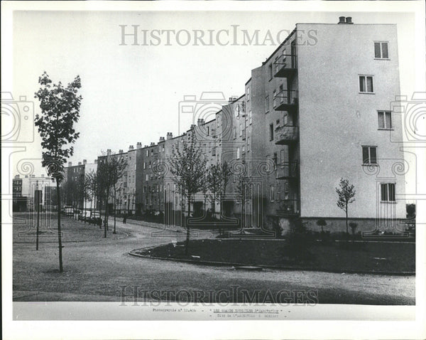 1965 Press Photo Bobigny Housing Project Cite de l'Abreuvoir Seine - Historic Images