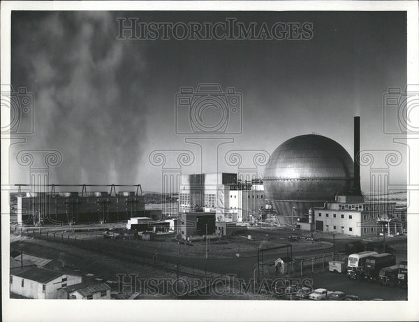 1965 Press Photo United Kingdom Atomic Energy Authority - Historic Images