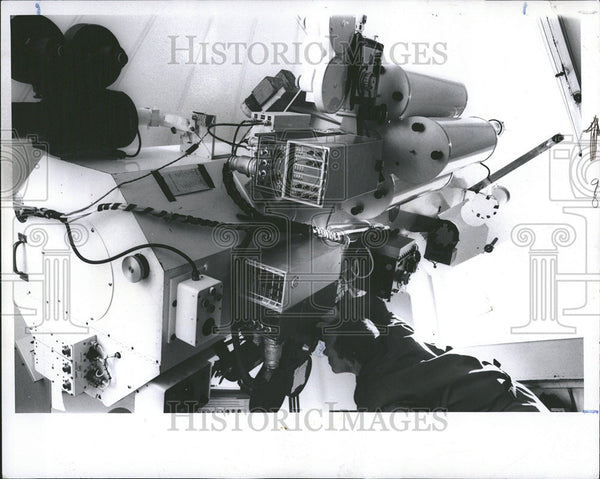 1969 Press Photo Equatorial Telescope Probe White Sands New Mexico - Historic Images