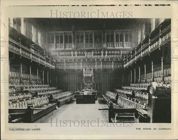 1936 Press Photo House Commons United Kingdom - Historic Images