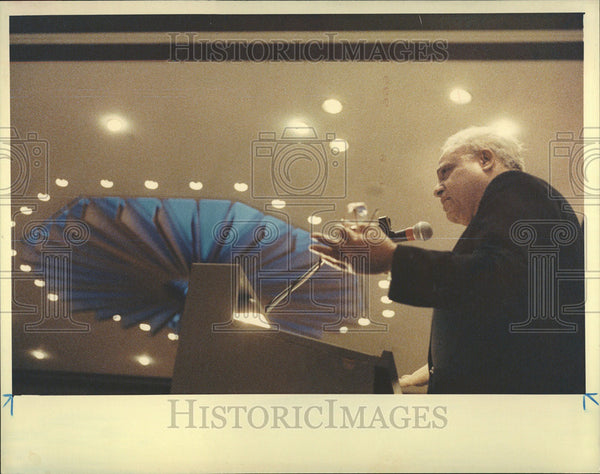 1993 Press Photo Benjamin Hooks American Civil Rights Leader Baptist Minister - Historic Images