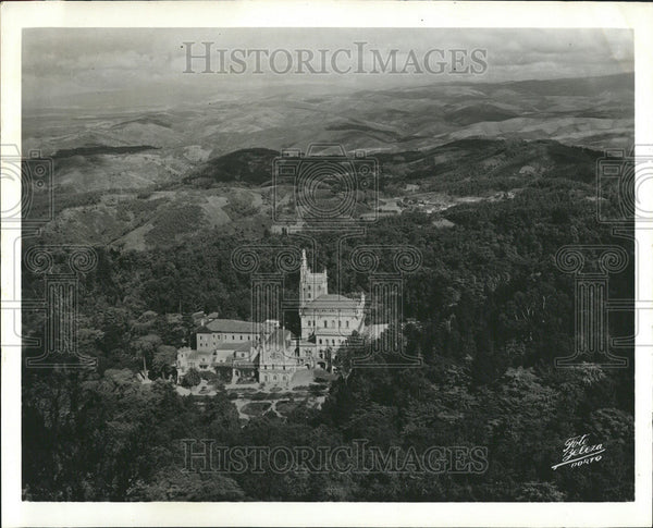 1963 Press Photo The Palace hotel in Central Portugal - Historic Images