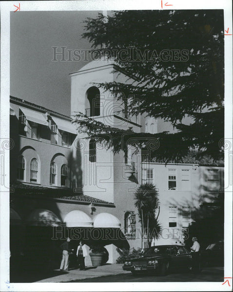 1981 Press Photo Sonoma Valley Mission Inn California - Historic Images