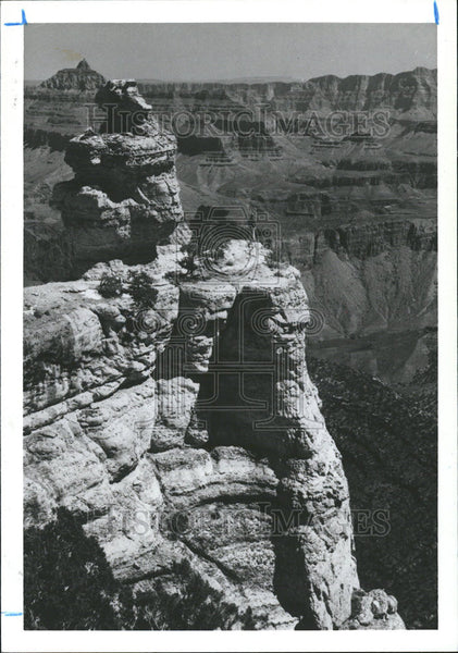 1991 Press Photo Grand Canyon Colorado River Arizona - Historic Images
