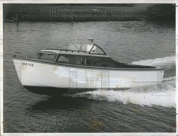 1946 Press Photo Stamas Yacht Old Own Operate Boat Company United States - Historic Images