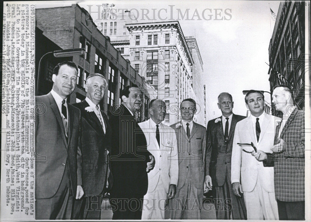 1965 Press Photo National Governors conference Minneapolis Tim Babcock Eulett - Historic Images