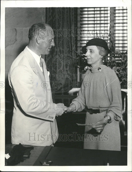 1934 Press Photo Federal Housing Administration Modernization James Moffett - Historic Images
