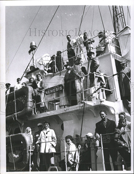 Press Photo United States coast Guard Cutter Nemesis Johnnie Evans - Historic Images