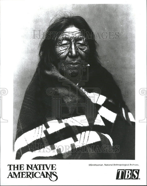 1994 Press Photo Native Americans Television Documentary - Historic Images