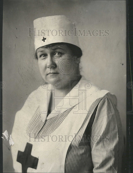 1919 Press Photo Mrs. Arthur H. Buhl, Red Cross - Historic Images