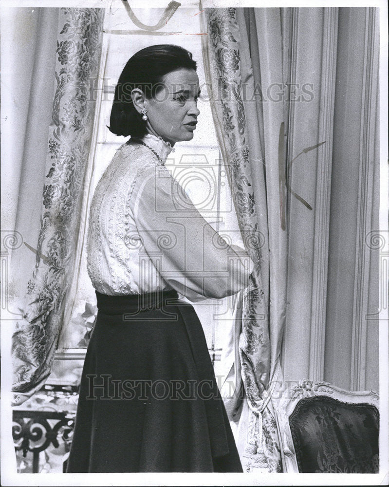 1967 Press Photo Mrs  Wyatt Cooper, Socialite Gloria Vanderbilt