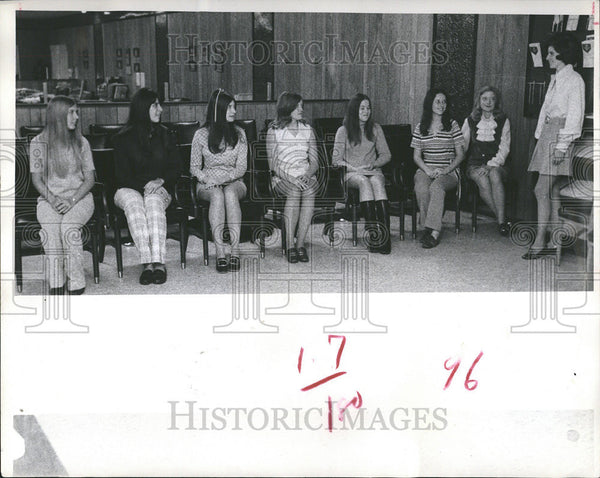 1970 Press Photo New Port Richey Florida Beauty Contestants - Historic Images