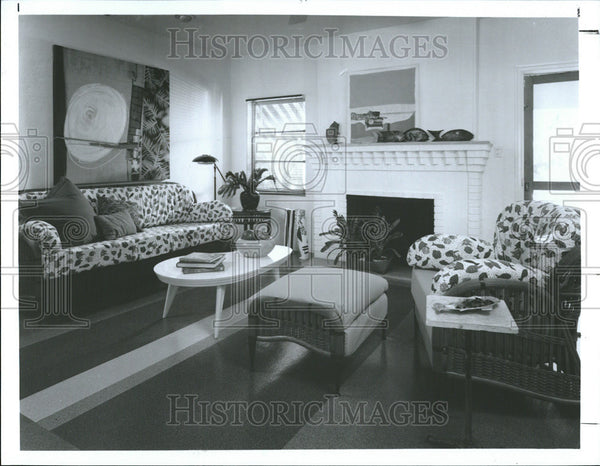 1992 Press Photo Interior Decorating - Historic Images