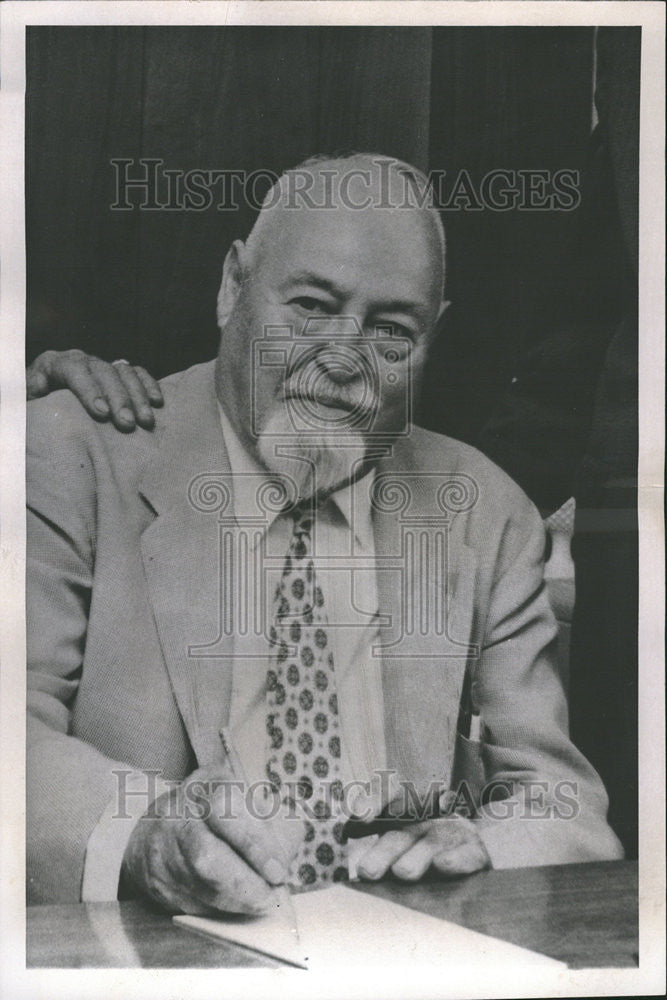 1965 Press Photo Paul Copeland, Don of the Food Business, Dies - Historic Images