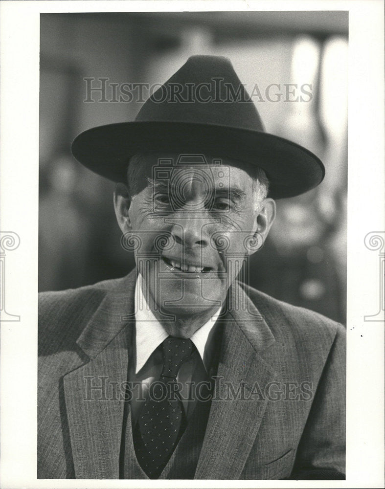 Press Photo Actor Harry Morgan Tv Program Aftermash Colonel Sherman