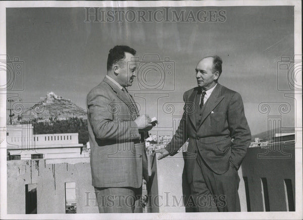 1951 Press Photo Craig Atkins in Greece - Historic Images