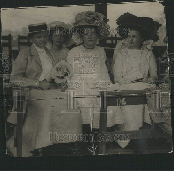 1911 Press Photo Marietta Chapin, Lalita Aronson, Eninita Matthews - Historic Images