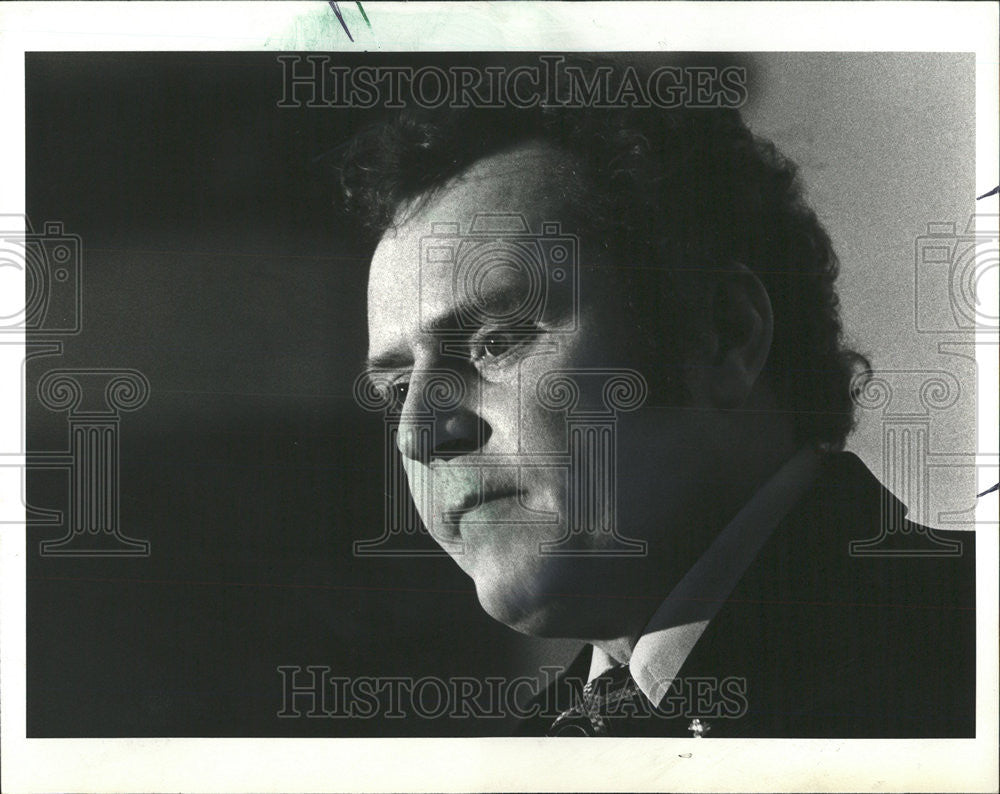 1978 Press Photo Larry Flynt States That he is Suspicious of Government - Historic Images