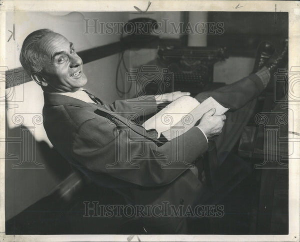 1945 Press Photo Alois Knapp Psychological Shame Goosepimple - Historic Images