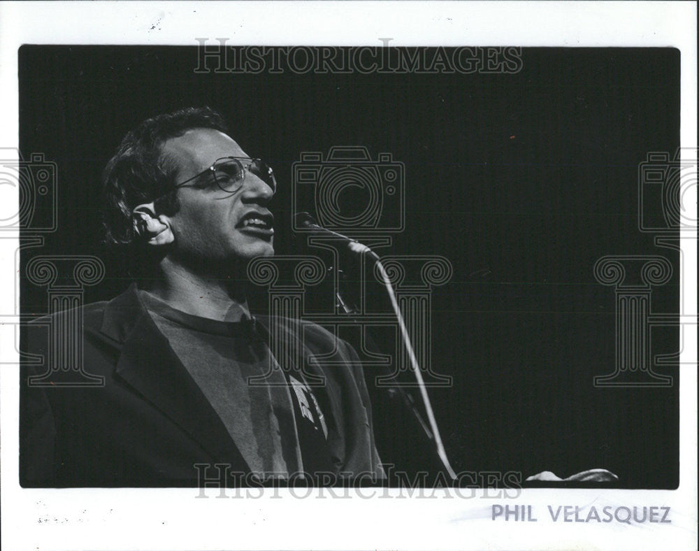 1993 Press Photo Donald Jay Fagen Musician Songwriter Singer - Historic Images