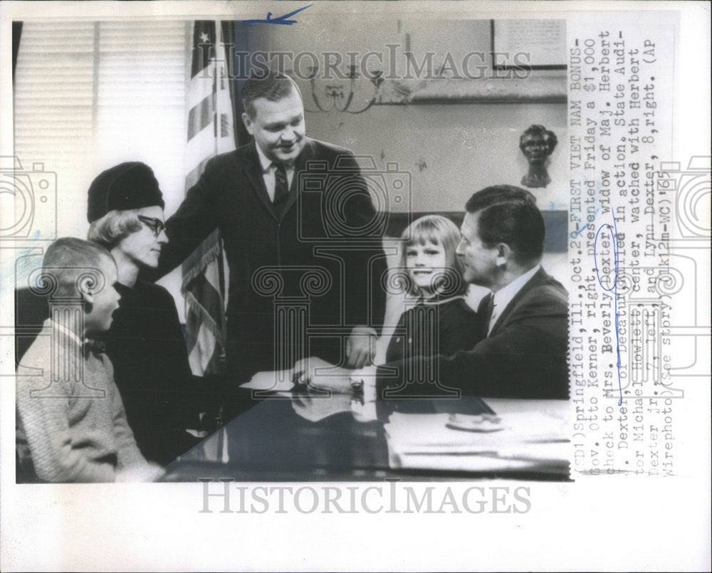 1965 Press Photo Mrs. Beverly Dexter Widow of Maj. Herbert - Historic Images
