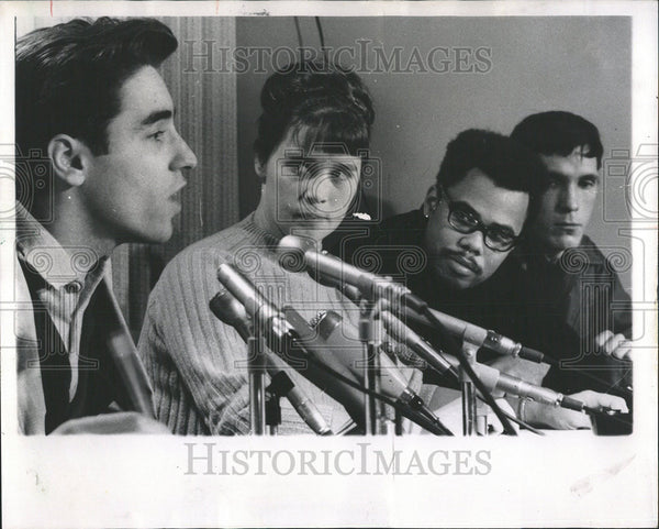 1968 Press Photo Carl Finamoreanti war activist - Historic Images