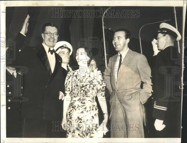 1938 Press Photo Crown Prince Gustaf Adolf King of Sweden Thank Country - Historic Images
