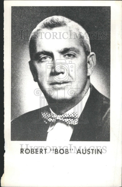 "1964 Press Photo Illinois Politician Robert ""Bob"" Austin - Historic Images"
