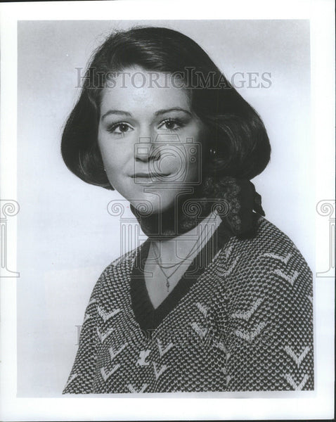 1976 Press Photo News Reporter Maralee Beck - Historic Images