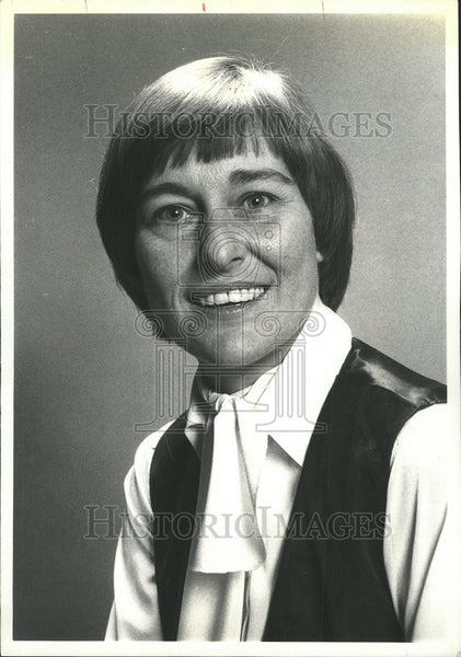 1980 Press Photo Chicago Illinois State Representative Barbara Flynn Currie - Historic Images