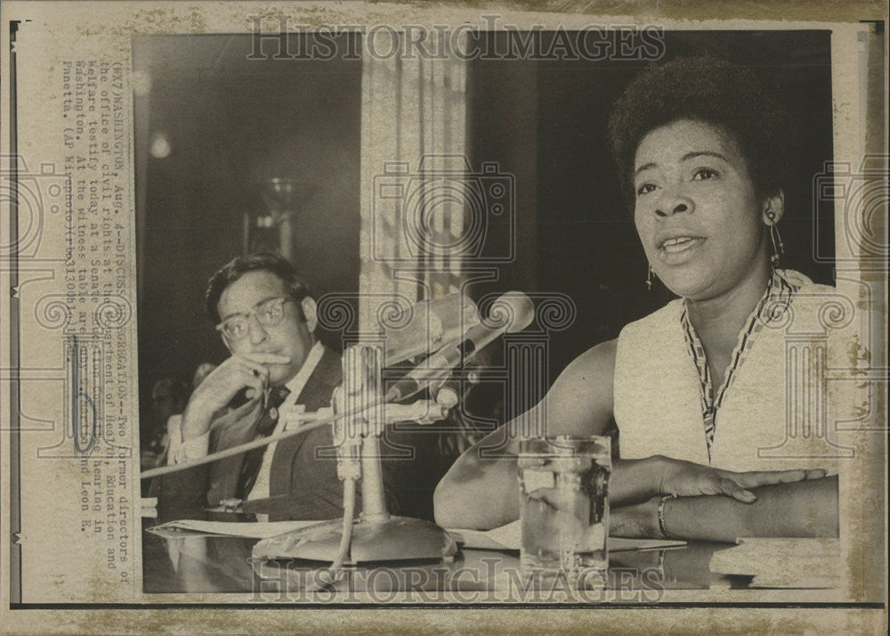 1970 Press Photo Ruby Marin Washington civil rights Department Education Welfare - Historic Images