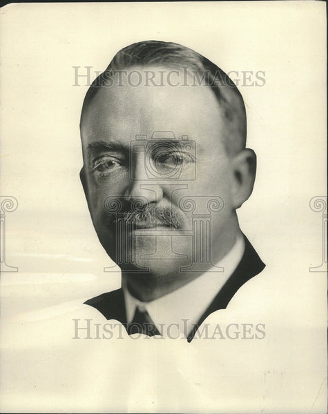 1928 Press Photo Mr Francis Jenkins inventor Television Radio Vision Tricans - Historic Images