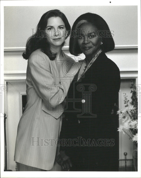 None Press Photo Melissa Gilbert Cicely Tyson - Historic Images