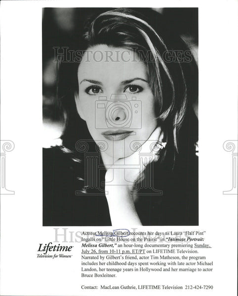 None Press Photo Melissa Gilbert - Historic Images